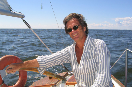 Sailing on the Chesapeake Bay. Sailing, like writing, has been a lifelong passion. The two have often been interwoven in stories and books.